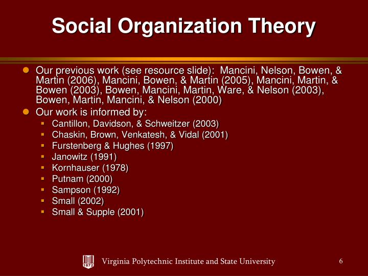 Our previous work (see resource slide):  Mancini, Nelson, Bowen, & Martin (2006), Mancini, Bowen, & Martin (2005), Mancini, Martin, & Bowen (2003), Bowen, Mancini, Martin, Ware, & Nelson (2003), Bowen, Martin, Mancini, & Nelson (2000)