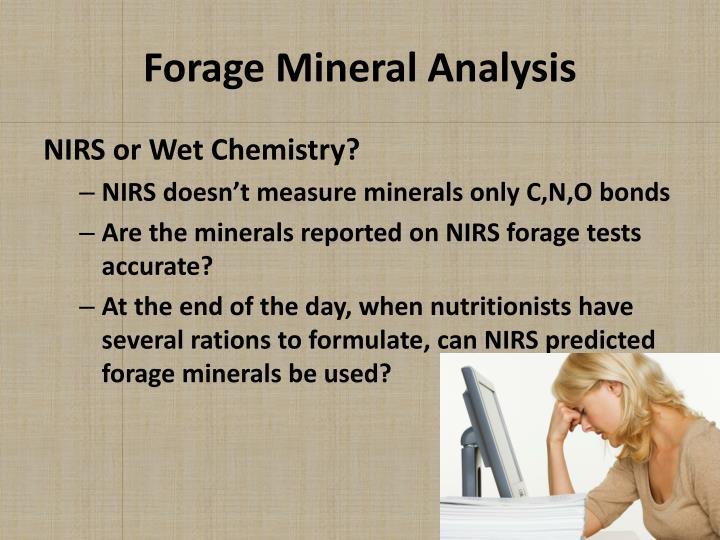 Forage Mineral Analysis