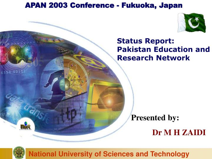 APAN 2003 Conference - Fukuoka, Japan