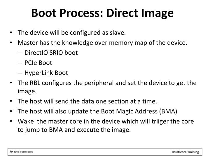 Boot Process: Direct