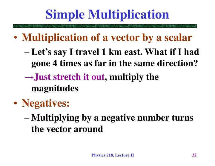 Simple Multiplication