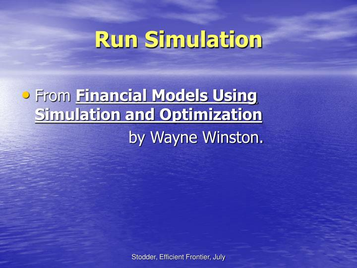 Run Simulation