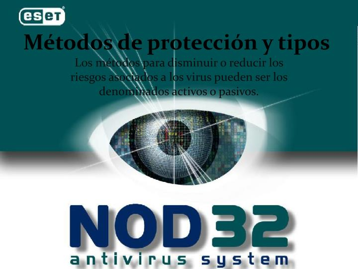 Métodos de protección y tipos