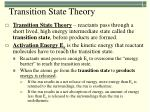 transition state theory1