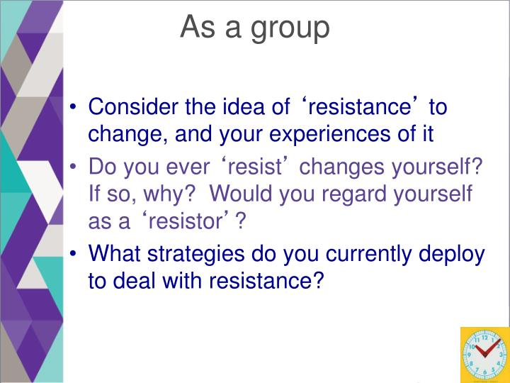 As a group