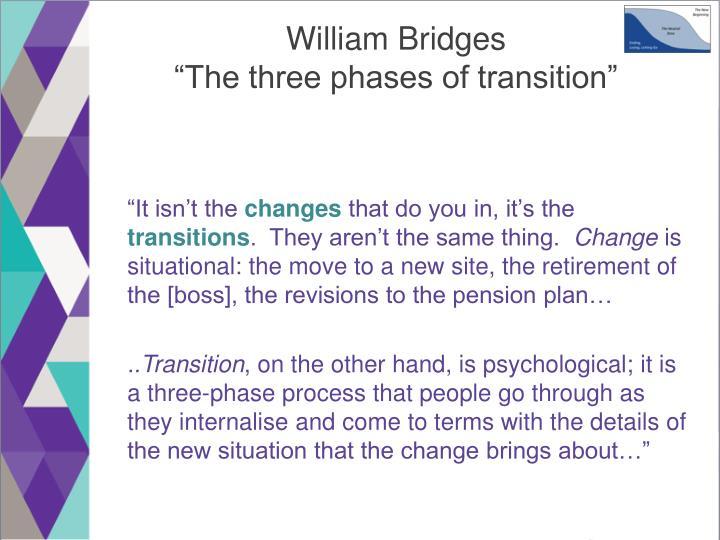 William Bridges