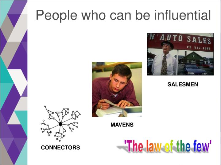 People who can be influential