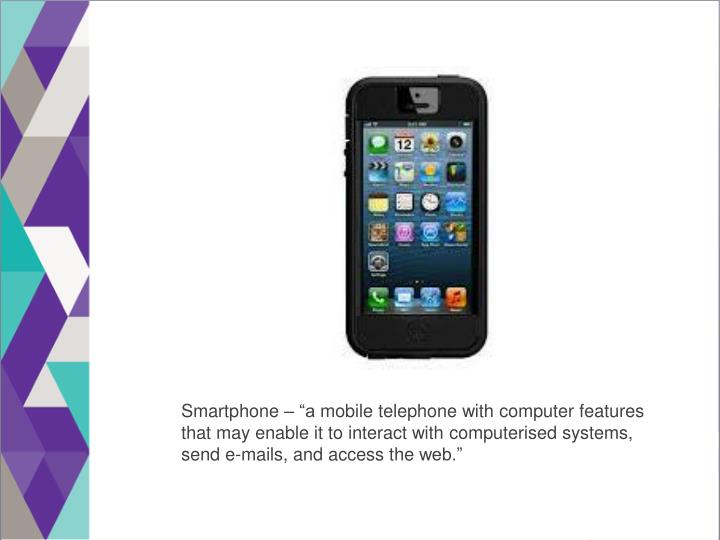 """Smartphone – """"a"""