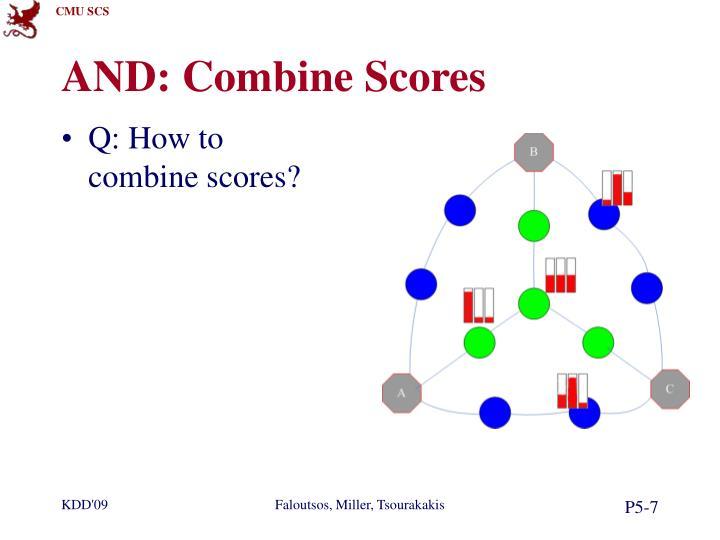 AND: Combine Scores