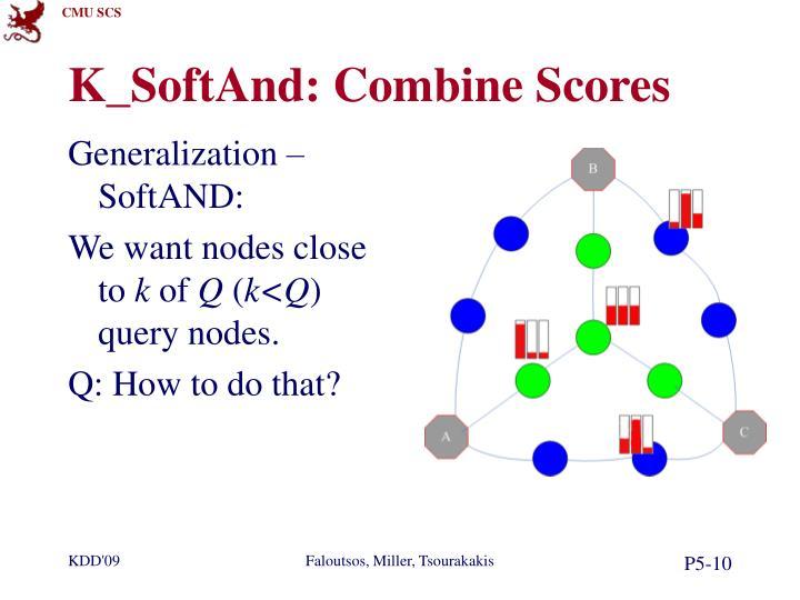 K_SoftAnd: Combine Scores