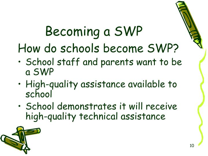 Becoming a SWP