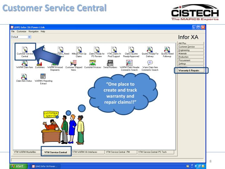 Customer Service Central