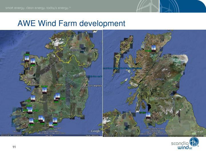AWE Wind Farm development