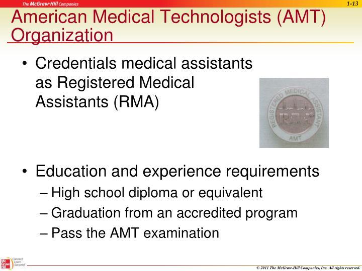 American Medical Technologists (AMT) Organization