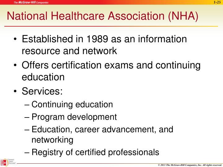 National Healthcare Association (NHA)