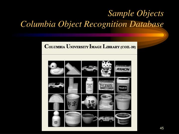 Sample Objects