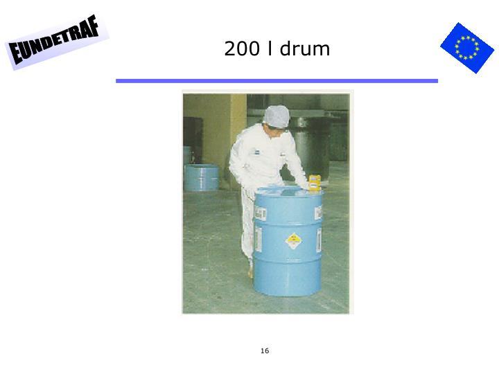 200 l drum