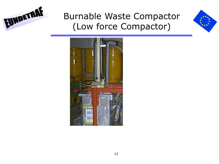 Burnable Waste Compactor