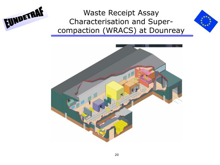 Waste Receipt Assay Characterisation and Super-compaction (WRACS) at Dounreay