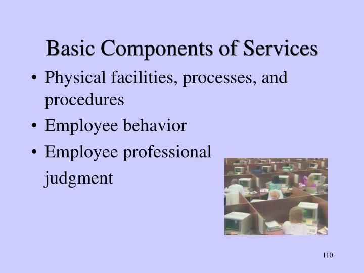 Basic Components of Services