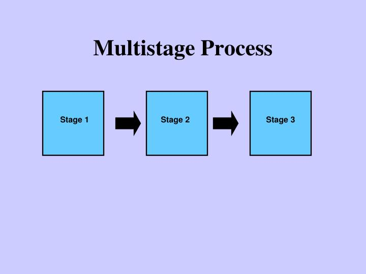 Multistage Process