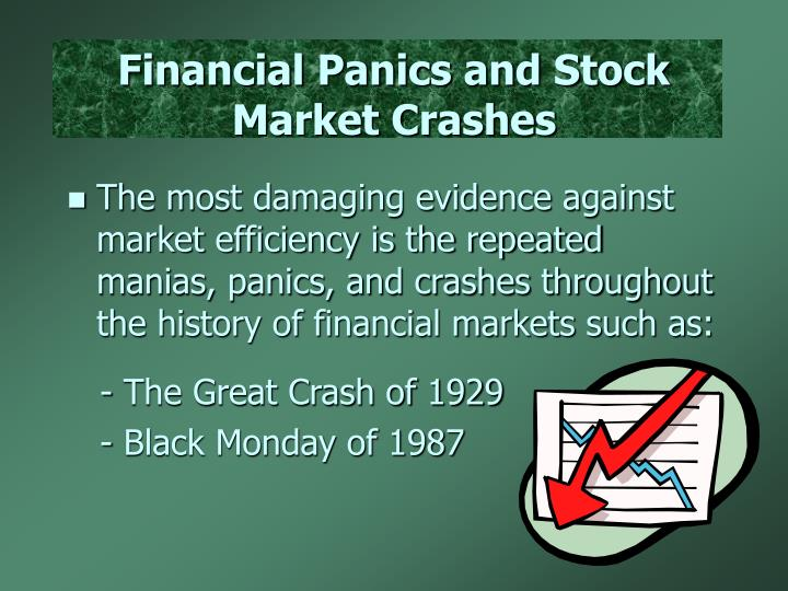 Financial Panics and Stock Market Crashes