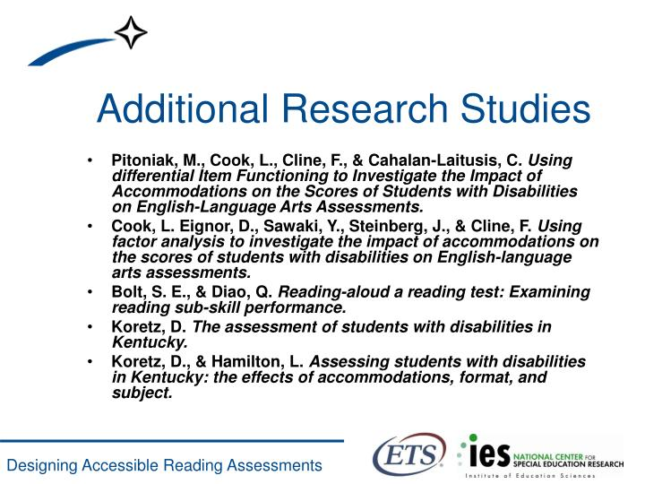 Additional Research Studies