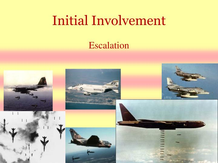 Initial Involvement