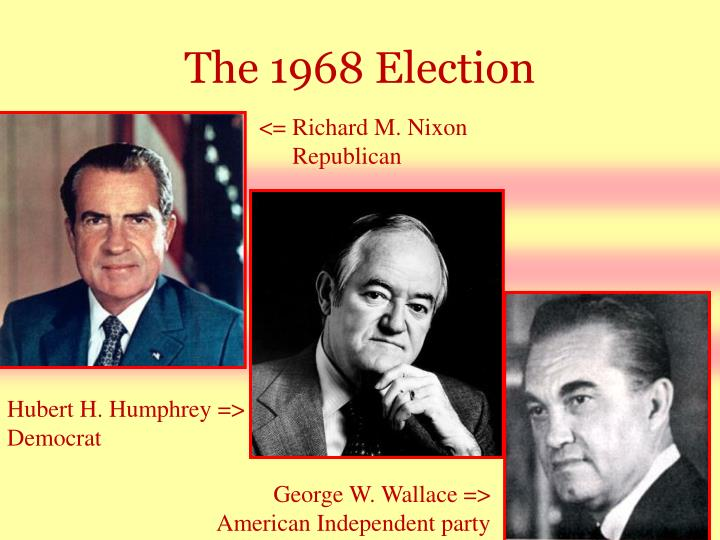 The 1968 Election