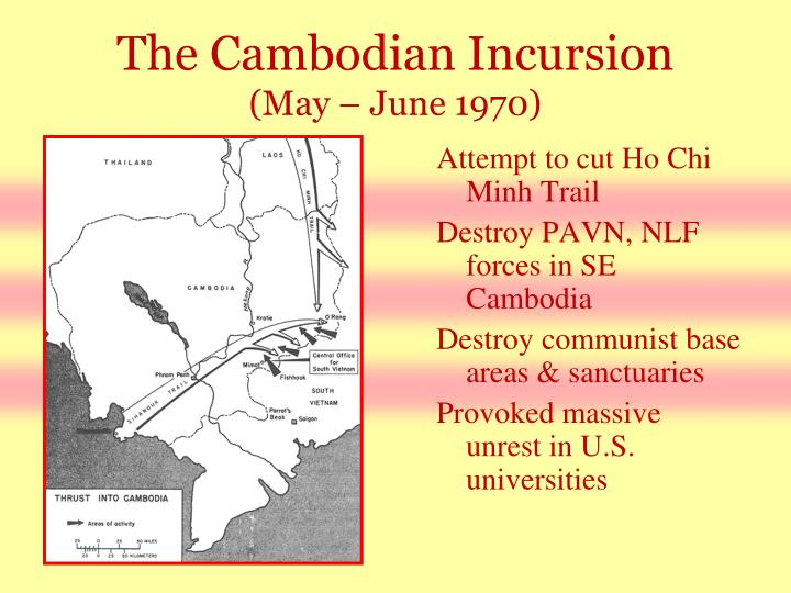 The Cambodian Incursion