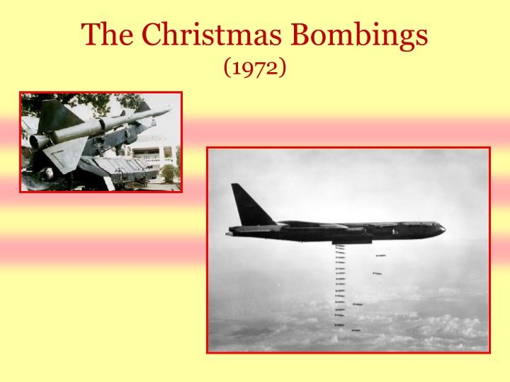 The Christmas Bombings