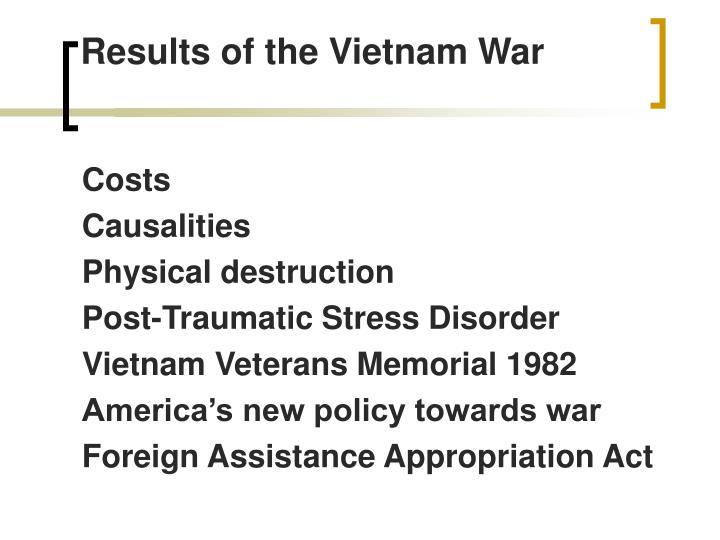 Results of the Vietnam War