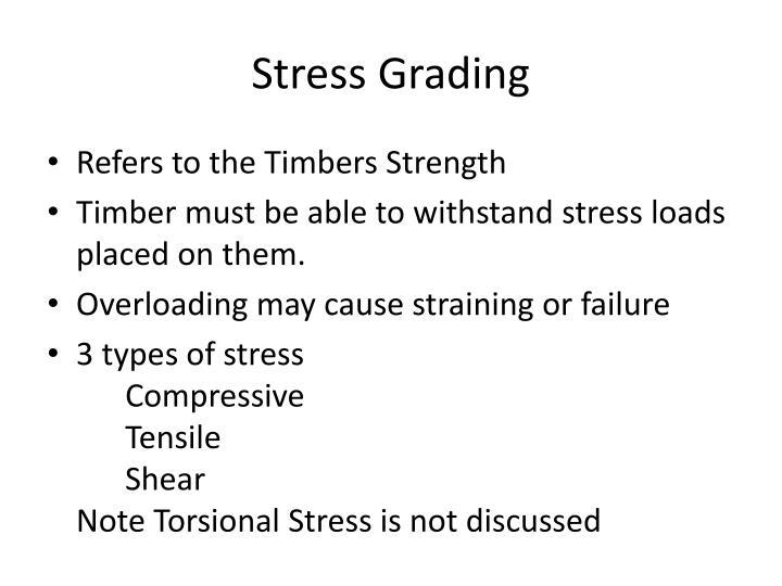 Stress Grading