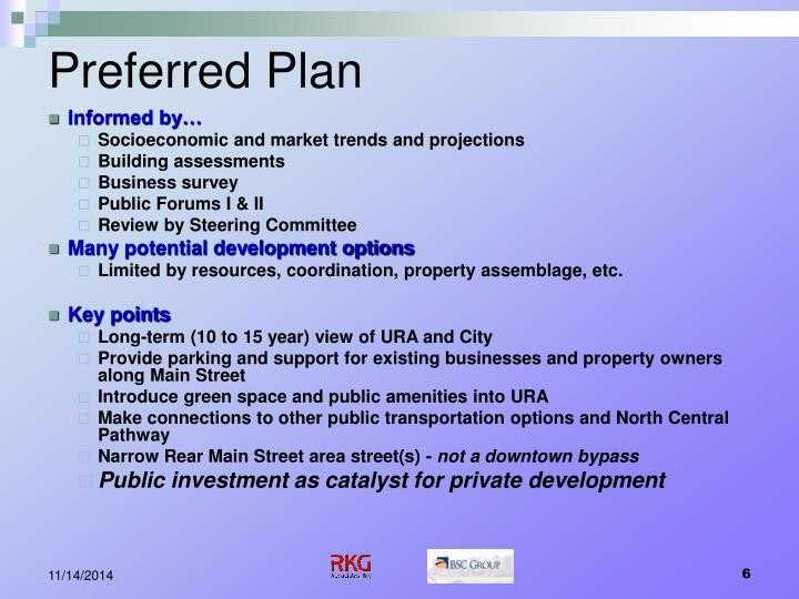 Preferred Plan