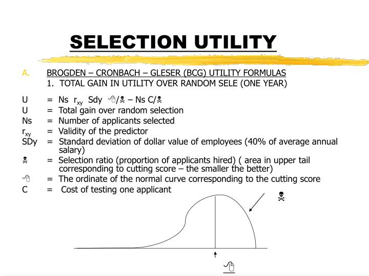SELECTION UTILITY