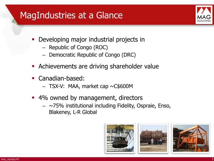 MagIndustries at a Glance