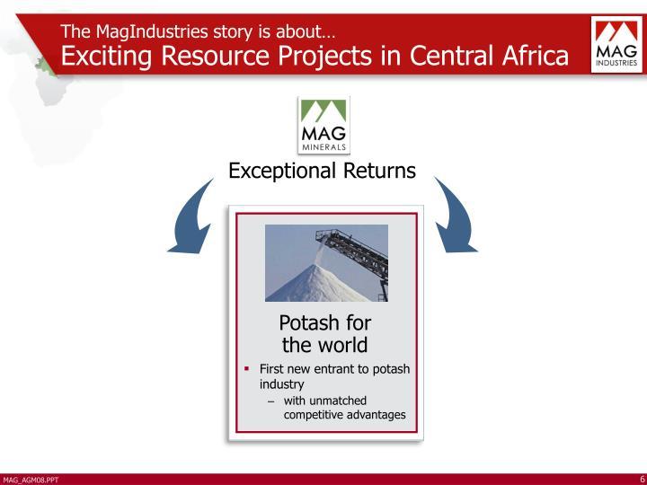 Potash for