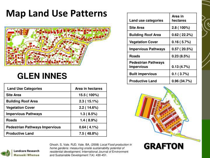 Map Land Use Patterns