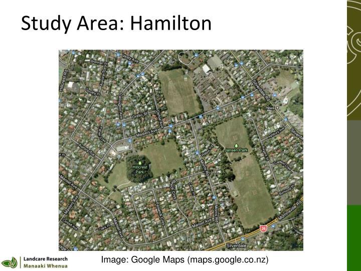 Study Area: Hamilton