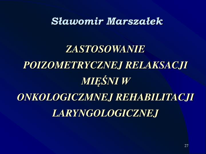Sławomir Marszałek