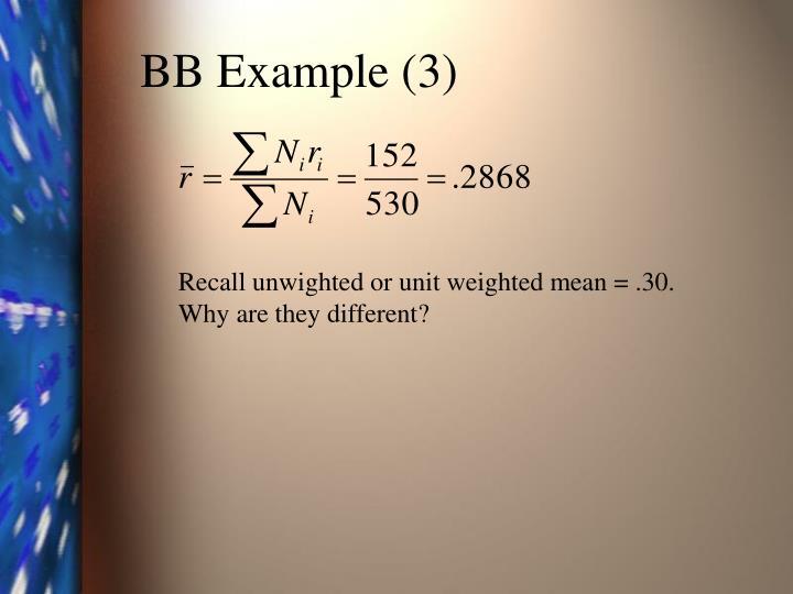 BB Example (3)