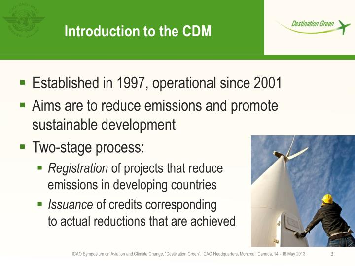 Introduction to the CDM
