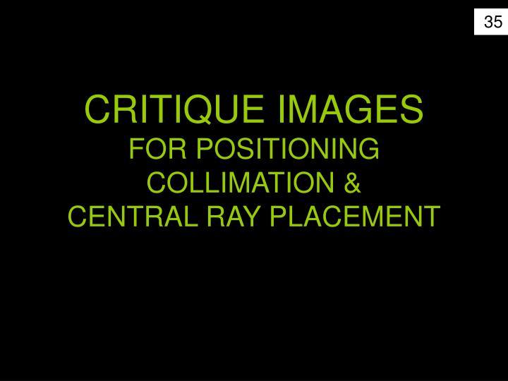 CRITIQUE IMAGES