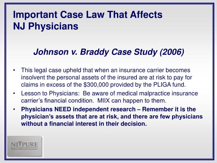 Important Case Law That Affects