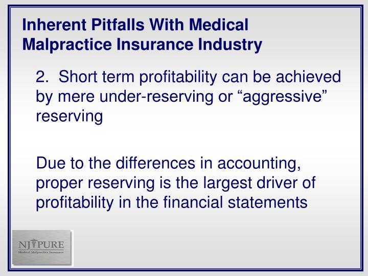 Inherent Pitfalls With Medical