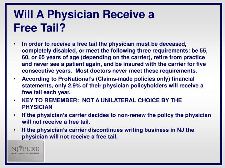 Will A Physician Receive a