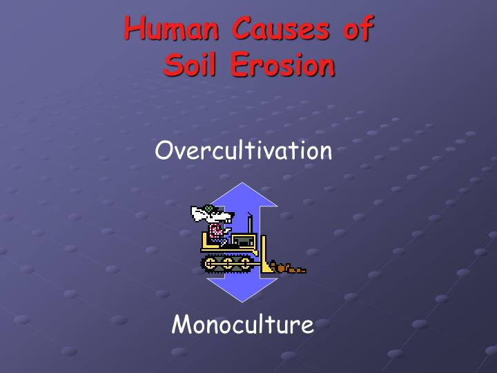 Human Causes of