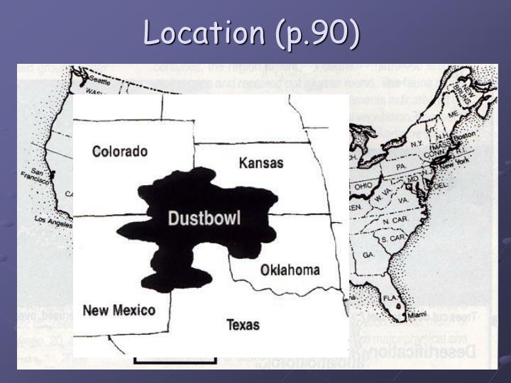 Location (p.90)