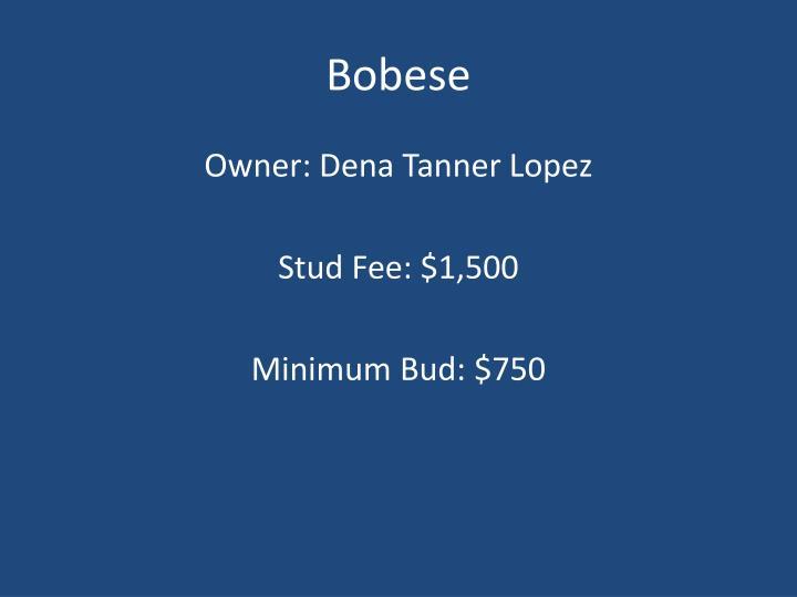 Bobese