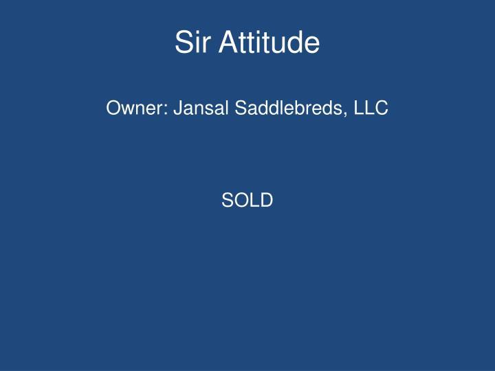 Sir Attitude